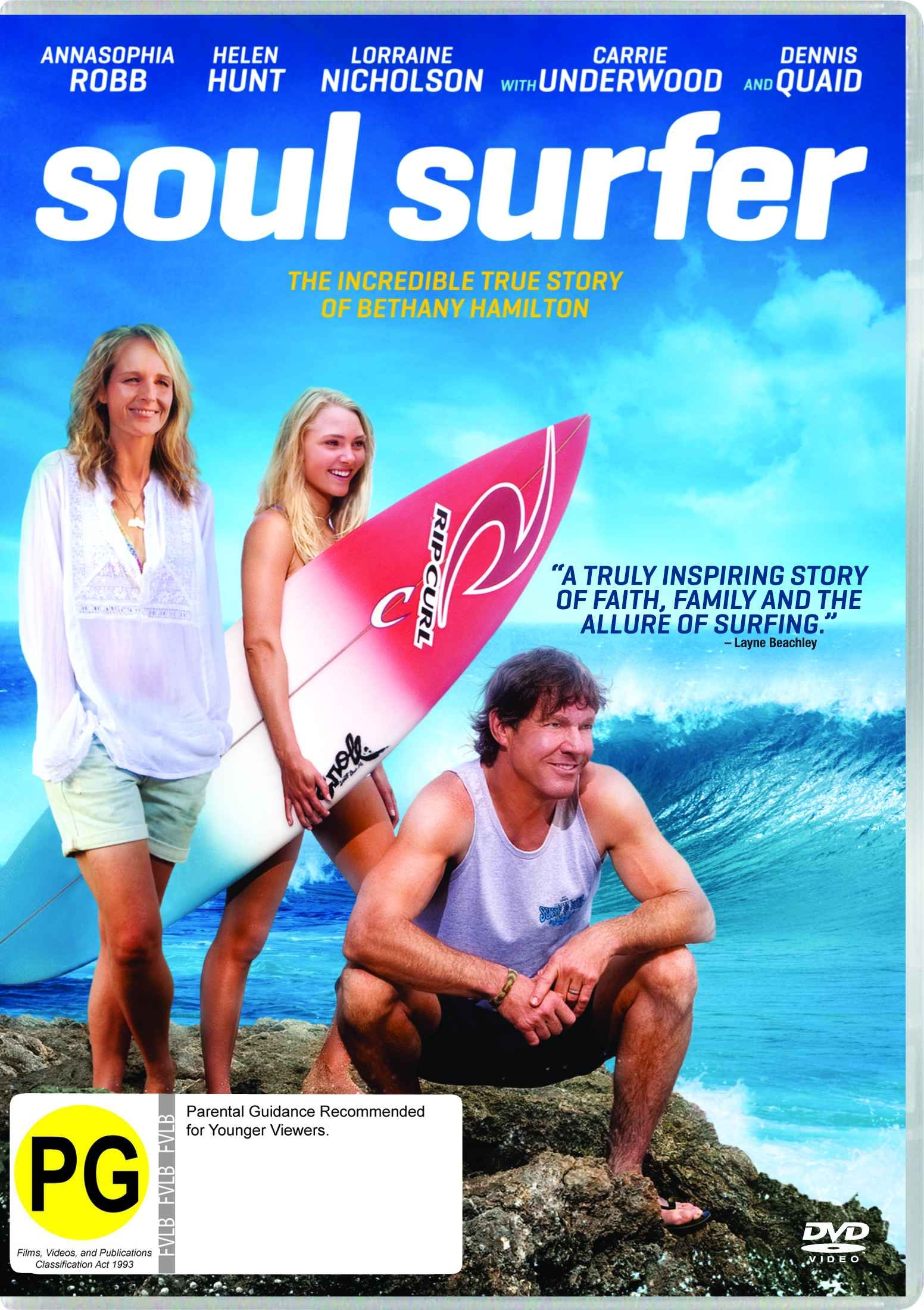 """soul surfer movie review """"soul surfer"""" is the best faith-based film ever made, an uplifting, entertaining  a  veteran of many a tv show, tv movie and """"bring it on"""" sequel,."""