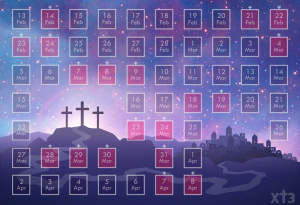 Xt3 Calendar
