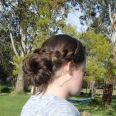 Braided updo 2
